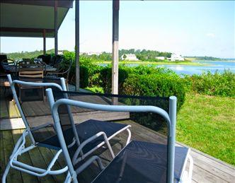 View from the deck to Coast Guard Beach and open ocean. - BRUORL 78635 - Orleans - rentals