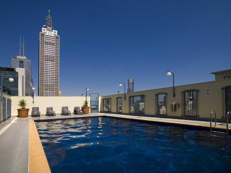 Melbourne CBD Serviced apartment rooftop pool - StayCentral Chinatown theatres arenas market shops - Melbourne - rentals
