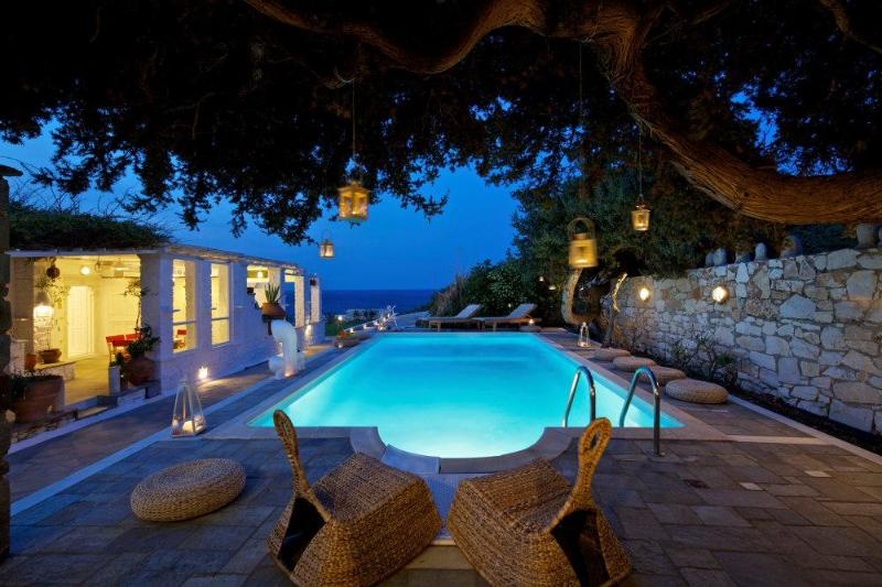 Beach stylish villa with private pool - Image 1 - Paros - rentals