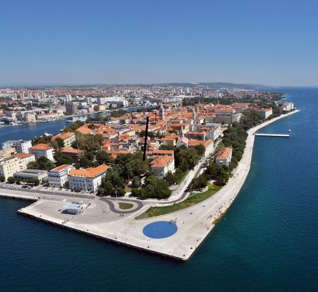 Panoramic view of apartment - ZADAR Ancient town 70m2 in the centre! - Zadar - rentals