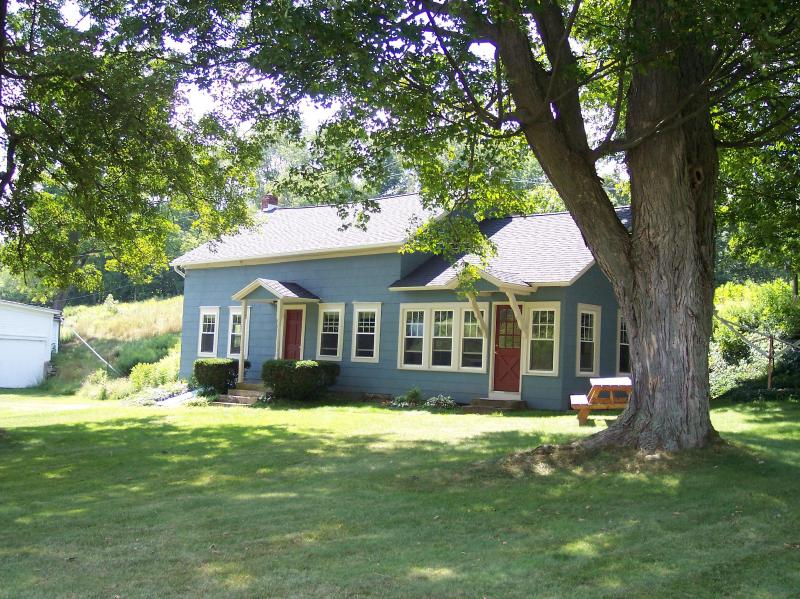 Our farmhouse in the summer - Country Farmhouse along the Catskill Scenic Trail - Hobart - rentals