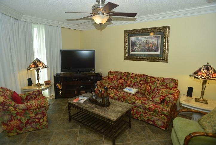 Entertainment Center with Flat Screen,Surround Sound, DVD, Blue-Ray - Phoenix VI Unit P6-6515 - Orange Beach, AL - Orange Beach - rentals