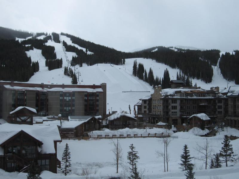 Copper Mountain - View from Spacious Living Room - Top-Floor Penthouse, Westlake Lodge, Copper Mtn. - Copper Mountain - rentals