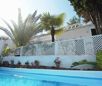 walled privacy to cool off within  - 3 BR farmhouse in valley with pool. 5 min from sea - Berja - rentals