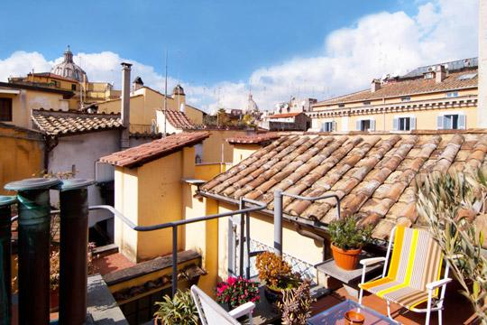 Roman Terrace  *** Cocoon Charming Terrace (ROME) - Image 1 - Rome - rentals