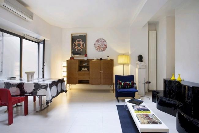 A modern apartment with a private yard near the Coliseum - Image 1 - Rome - rentals