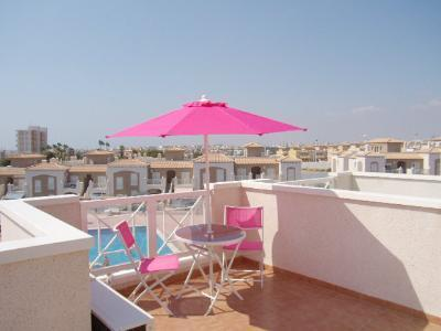 South face Roof terrace - rental long term Townhouse Costa Blanca Torrevieja - Torrevieja - rentals