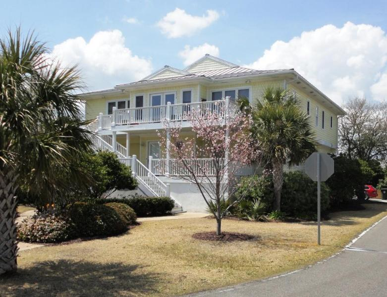 Front of House - Sunset Marsh - 4 BR Duplex - Best Sunsets in WB. - Wrightsville Beach - rentals