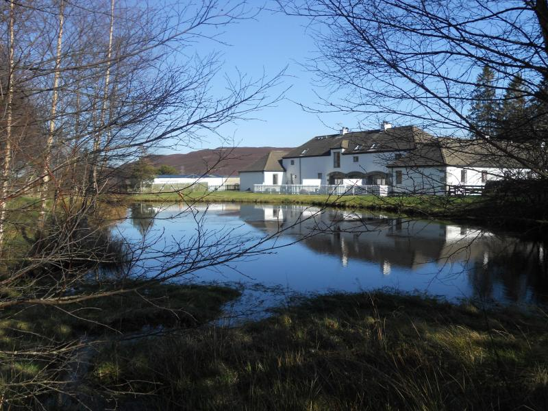 Small lochan stocked with brown trout...fish for free. - Douglas Fir Cottage - Double and Twin Bedrooms - Aviemore - rentals