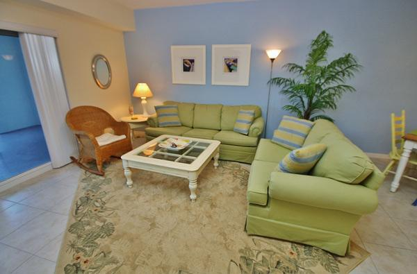 Bright Living Room - Oceanwalk 7-302, 4 Minute Walk to the Beach - New Smyrna Beach - rentals