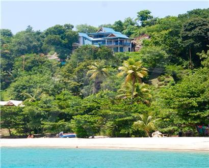 Located above stunning Princess Margaret beach - ANightAshore on Bequia - Port Elizabeth - rentals