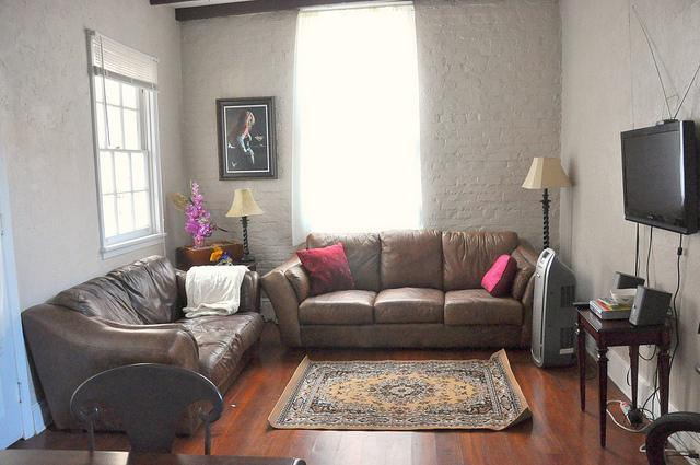 Living Room - Beautiful and Quiet French Quarter Condo - New Orleans - rentals