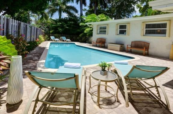 Soak in the Sun in Fashion - Palm on 5th Ave: Private Pool with Gourmet Kitchen - Wilton Manors - rentals