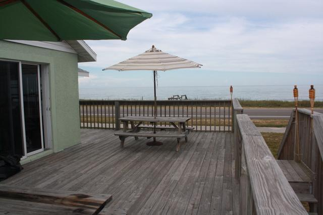 sundeck - Captain Bob's Beach House - Flagler Beach - rentals