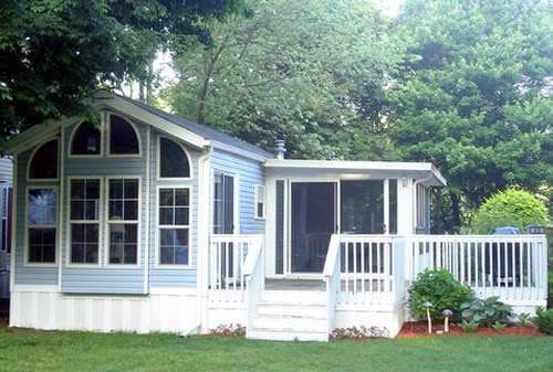 Goshorn Lake #45 - Park model near beach on Goshorn Lake - Saugatuck - rentals