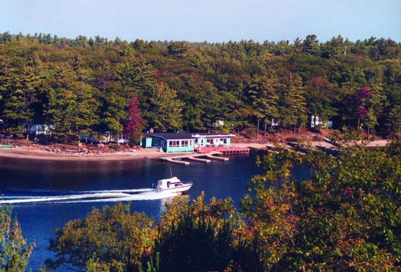 Cottage from water - Craganmor Point Cottage Resort & Fishing, Parry Sound/Muskoka/Georgian Bay ON - Parry Sound - rentals