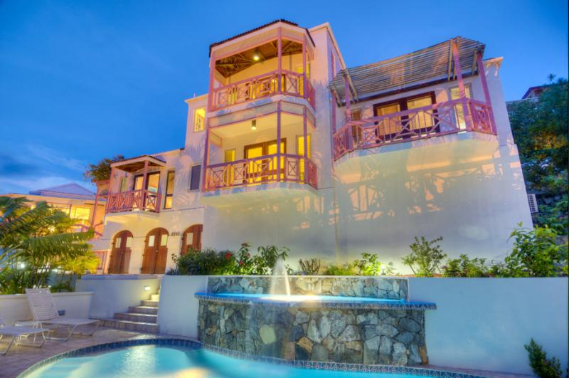 Sunset House at Long Bay, West End, Tortola - Ocean View, Pool, Pictures Can't Compare To The Reality - Image 1 - West End - rentals
