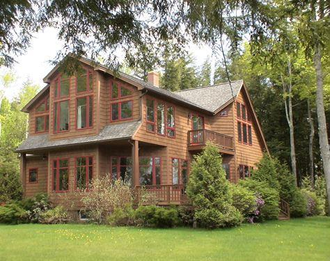 Villa on Cobbossee Lake, private beach, lake view, - Image 1 - Manchester - rentals