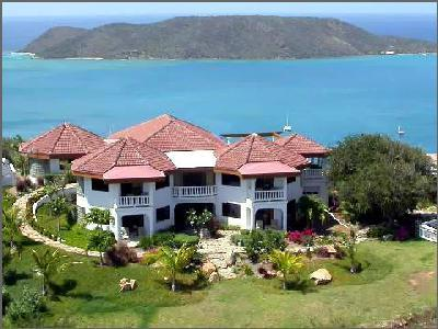 Tamar- magnificent view of Leverick Bay from tropical grounds with pool - Image 1 - Leverick Bay - rentals