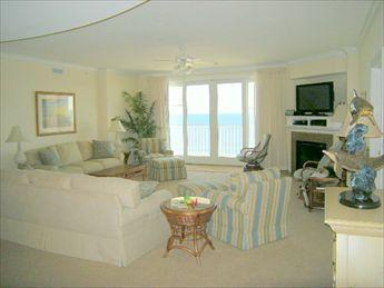 Living Room with Ocean View - South Beach 601 105807 - Ocean City - rentals