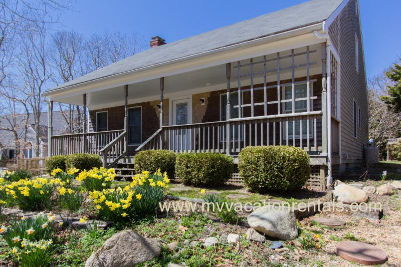 Front of House with Farmer's Porch - WALCN - Edgartown - rentals