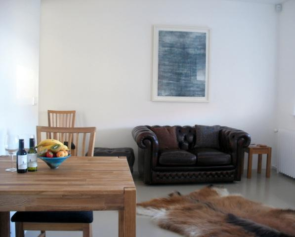 Lounge/dining area - Gamla Posthusid - Holiday Apartment 2 - Saudarkrokur - rentals