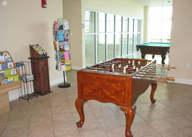 Game Room - Crystal Shores 1407 - Gulf Shores - rentals