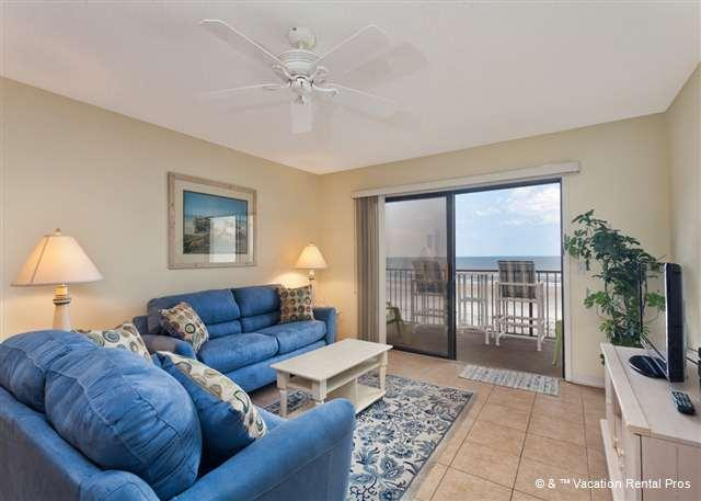 Sit back and watch the ocean - Summerhouse 262 Ocean Front, Updated Condo, 4 Heated Pools - Saint Augustine Beach - rentals
