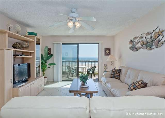 Ocean views and coastal elegance! - Summerhouse 162, Ocean Front, Updated, 4 pools, tennis, gym - Saint Augustine Beach - rentals