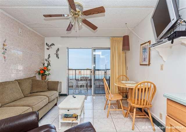 Our ocean view condo is poolside! - Beachers Lodge 102, Beach Front, Queen Sized Suite, Ground Floor - Saint Augustine Beach - rentals