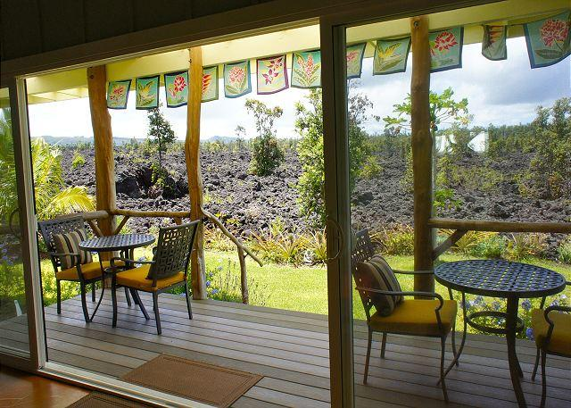 Lanai - Open Design and Comfort at the Kipuka House - Pahoa - rentals
