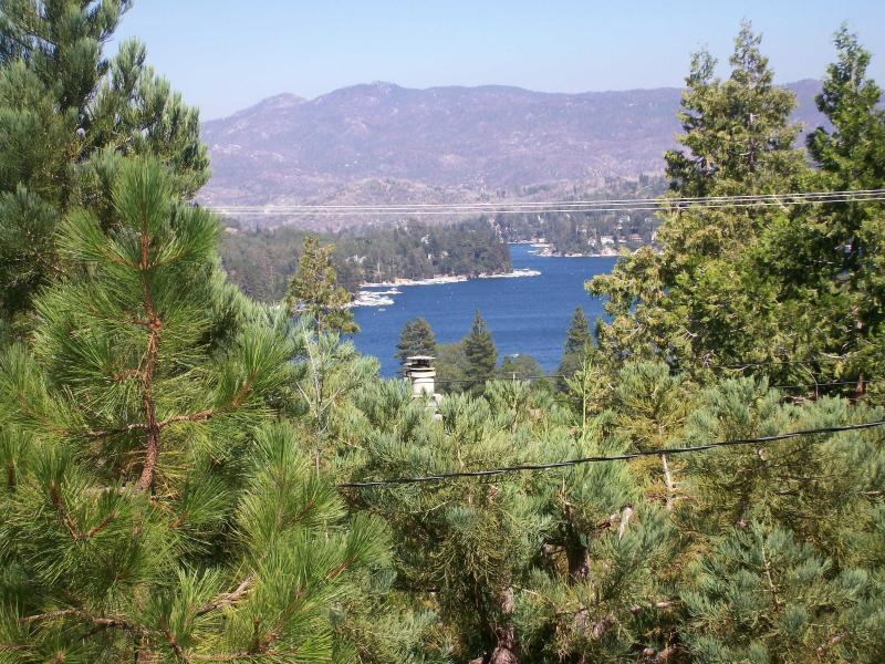 Lakeview from deck - Lakeview Home, Cozy Yet Spacious - Lake Arrowhead - rentals