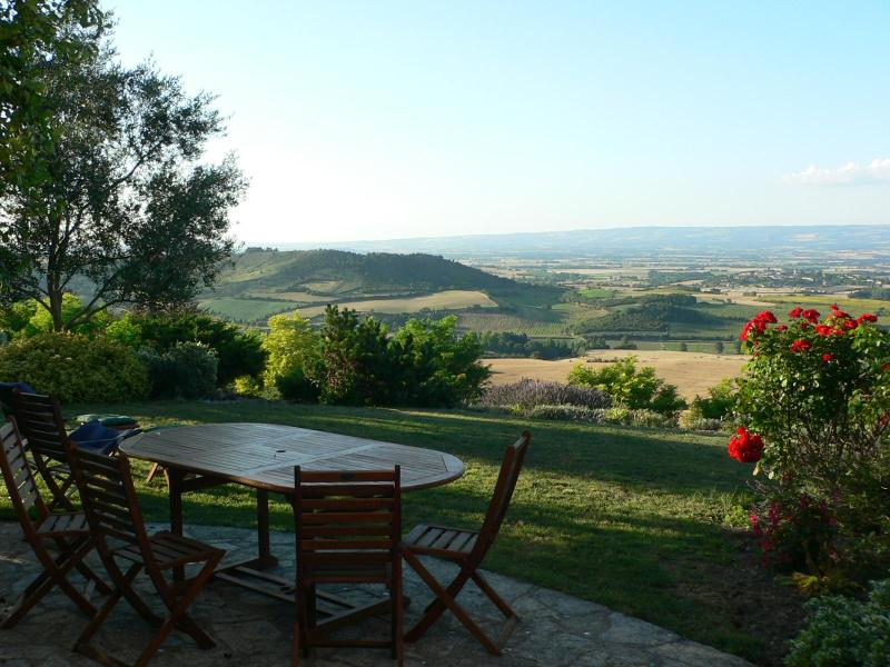 View from patio - Edge of village house with wonderful views - Aude - rentals