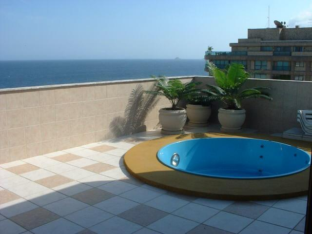 (#133) 3bd penthouse in Ipanema with private pool - Image 1 - Ipanema - rentals