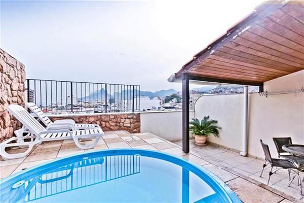 (#154) Very good penthouse with private pool - Image 1 - Rio de Janeiro - rentals