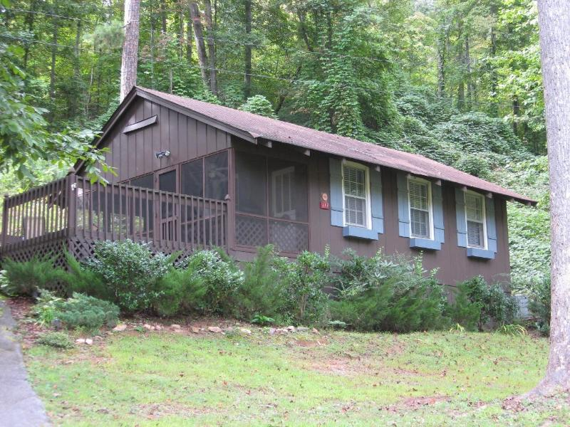 Blue Shutter Cottage is a cozy one bedroom, one bath vacation rental near Murphy, NC. - Cozy Bear Paw Cottage - Great Mountain Getaway - Murphy - rentals