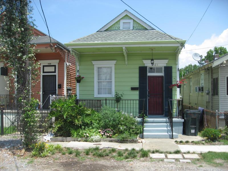 Front of house - 2 bedroom house near Tulane University - New Orleans - rentals