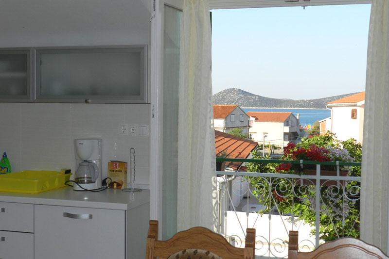 2-bedrooms apartment with seaview - Image 1 - Vodice - rentals