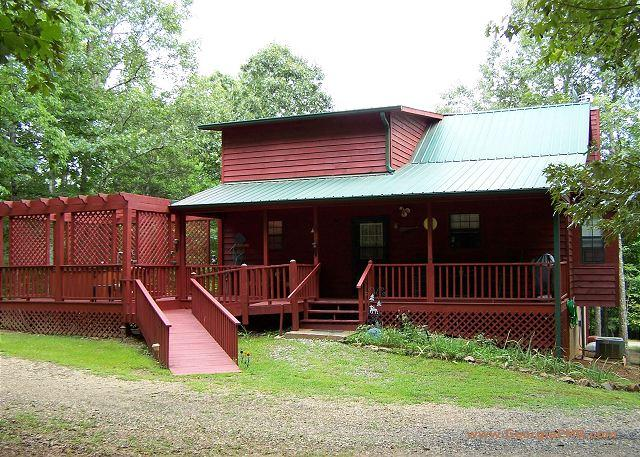 Aunt Martha's Cabin - When you stay in this cabin you'll feel like you're staying with family! - Blairsville - rentals