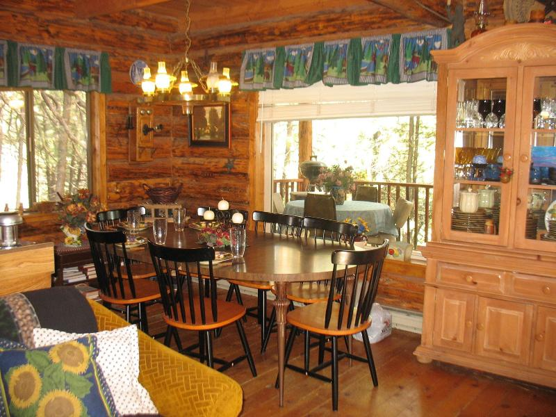 Dining with Comfort - Cozy Quaint Log Cabin, Luxury in the Mountains - Mountain Home - rentals
