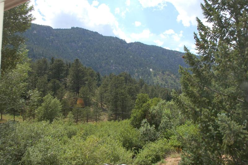 View from our Home - Pikes Peak, Mountain Creek 6 Bedroom for up to 16! - Cascade - rentals