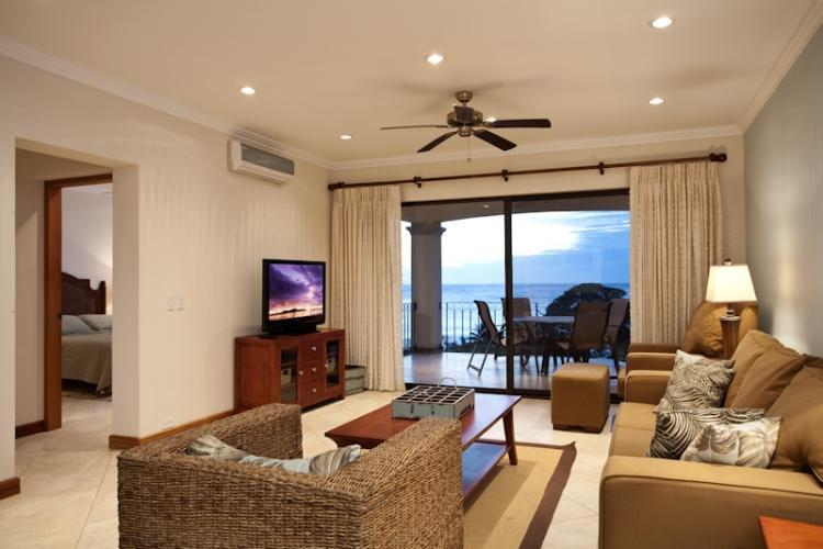 Another view of living area - Ocean view condo in the heart of Flamingo (O824) - Playa Flamingo - rentals