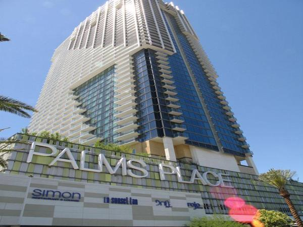 Esterior of the building - Palms Place Rated R Suite - One of a Kind in Vegas - Las Vegas - rentals