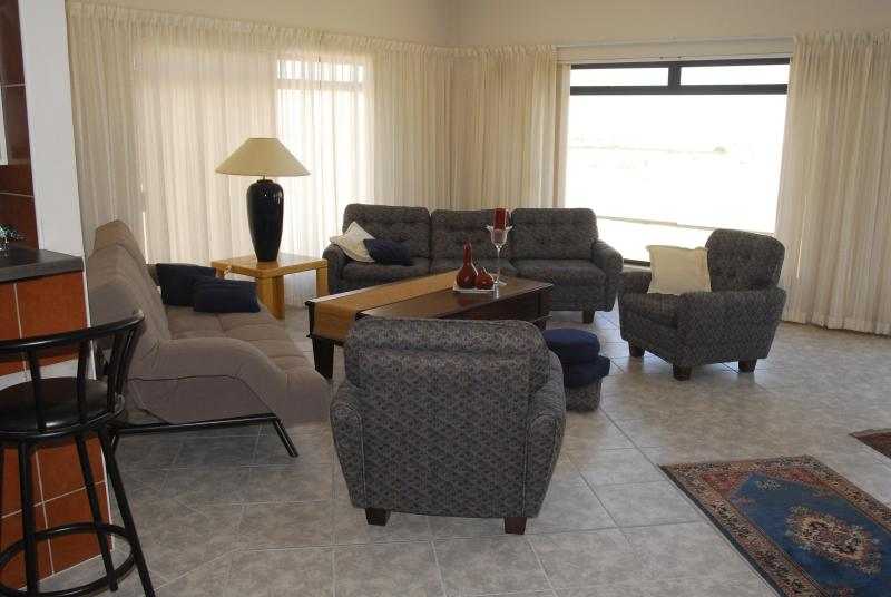 Huge Lounge with magnificent views of the famous Namib Dunes and Atlantic Ocean. - Chala-Kigi ...Dune View - Swakopmund - rentals
