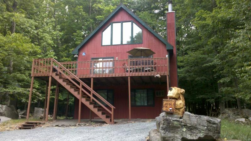 Welcome! - Hideout Poconos Rental One Block from Beach,Ski - Lake Ariel - rentals