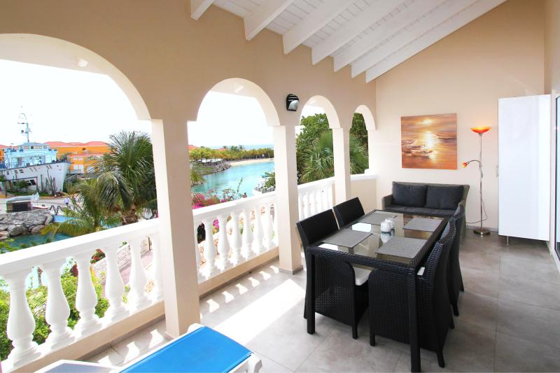 Balcony with sea view - OCEAN SKY - 2 bedroom penthouse with ocean view - Willemstad - rentals