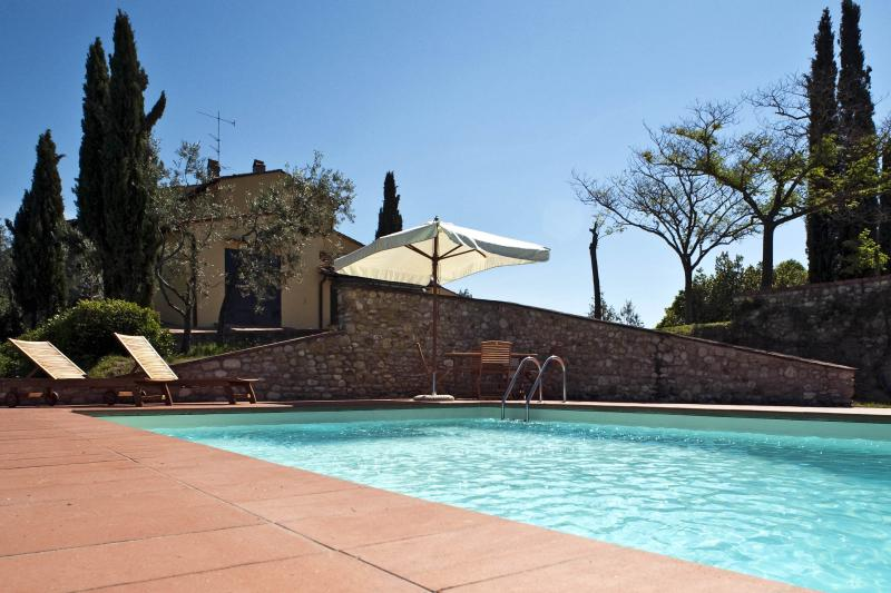 Villa Paradiso and its wonderful pool - Beautiful villa with view of the Chianti landscape - San Casciano in Val di Pesa - rentals