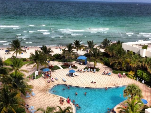 Ocean-Pool View Condo Hollywood Beach Paradise - Image 1 - Hollywood - rentals