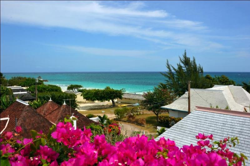 View from Deck - Cannon Cottage, Silver Sands Jamaica vacation - Silver Sands - rentals