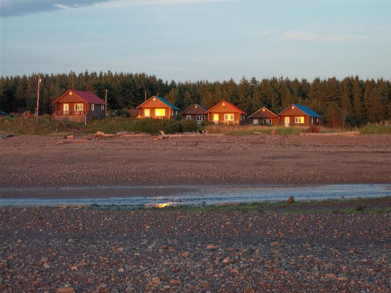 View of Cottages from Beach - Beach Chalets/Cottages - Bathurst - rentals